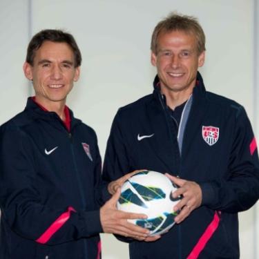 Kurt Mosetter and Jürgen Klinsmann