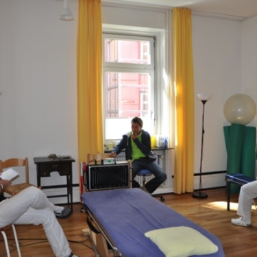 Teambesprechung im ZiT Konstanz
