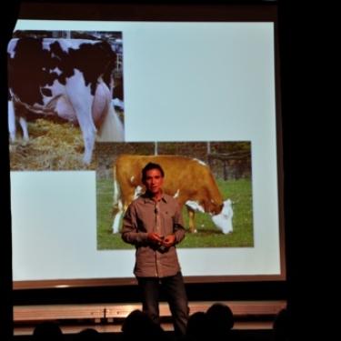 Kurt Mosetter bei einem Vortrag im Konstanzer Konzil 2012