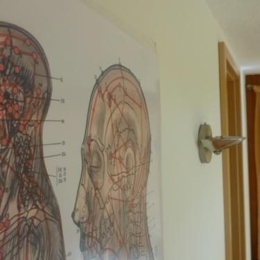 Detail im Behandlungsraum