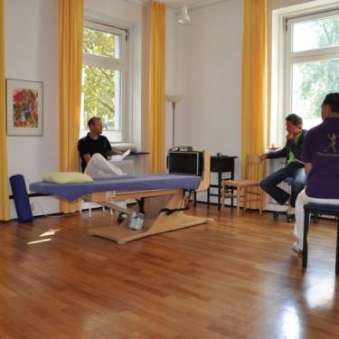 Team meeting in Galileo-Room