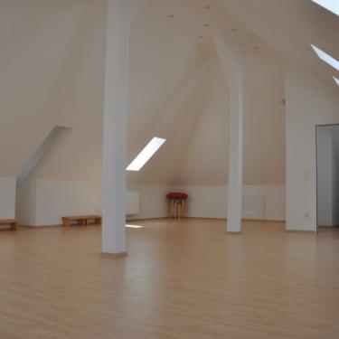 Seminarraum unter dem Dach