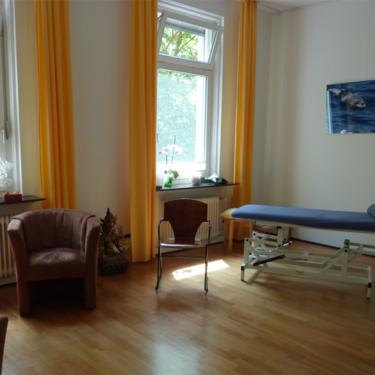 Treatment room in ZiT Konstanz