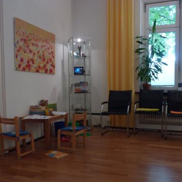 Waiting area in ZiT Konstanz